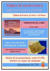 Presentación del libro: Diània terra nostra de Just I. Sellés