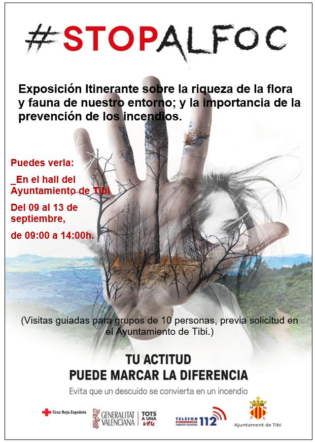 """Exposición """"Stop al foc"""""""