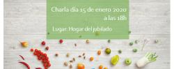 Charla: Alimentación saludable