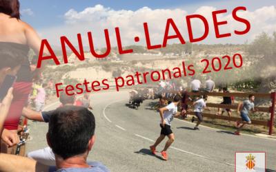 Comunicado sobre la suspensión de la celebración de las fiestas patronales 2020