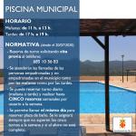 Nova normativa - Piscina municipal