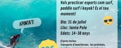 Jornada d'esports aquàtics - Bus a Santa Pola