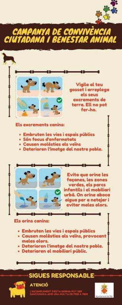 Campanya convivència ciutadana i benestar animal
