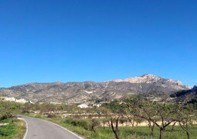 Panoràmica Tibi - camí Bogar