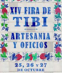 XIV Fira de Tibi: traditions and crafts
