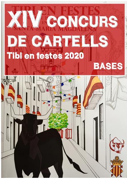 """Bases del XIV concurso de carteles """"Tibi en festes 2020"""""""