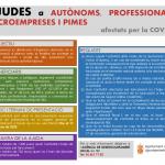 Convocatoria de ayudas a autónomos, profesionales, microempresas y PYMES afectados por la COVID19
