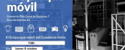 Instalación del Ecoparque móvil Consorcio Plan Zonal de Residuos 7